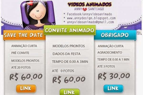 Videos Animados  Convite Animado