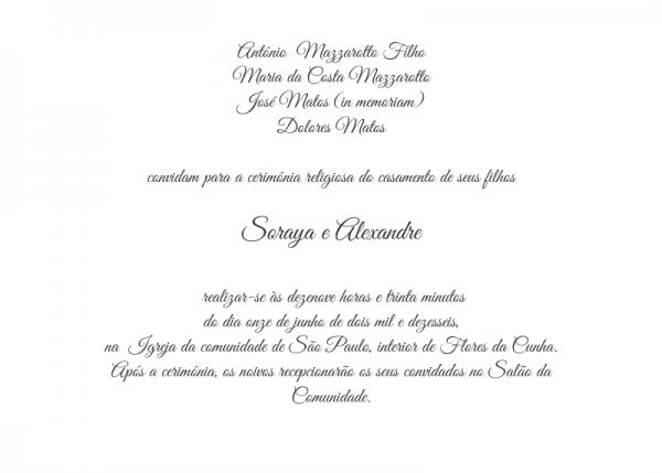 Textos Para Convites De Casamento
