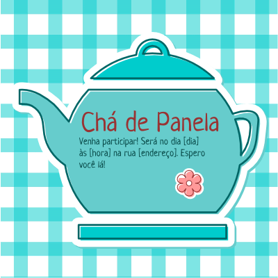 Chá De Panela Azul