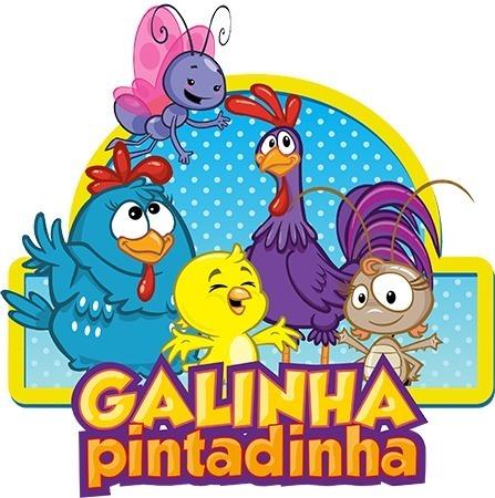 Video Convite Virtual Animado Galinha Pintadinha Até 10 Fts