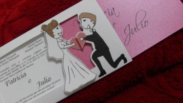 10 Convites De Casamento Diferentes  Seja Original Na Hora De