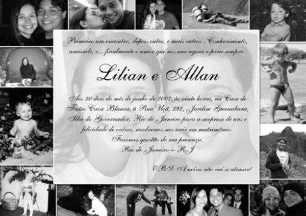 Lindo Frases De Amor Para Convite De Casamento
