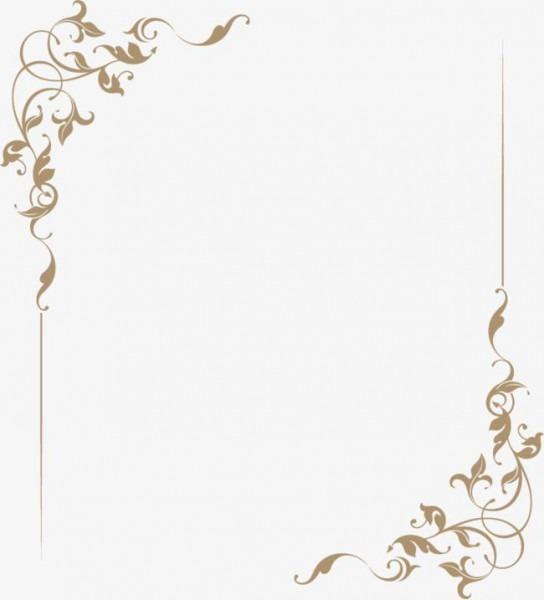 Elegante,estilo Europeu,moldura,lace,padrões,papel De Carta