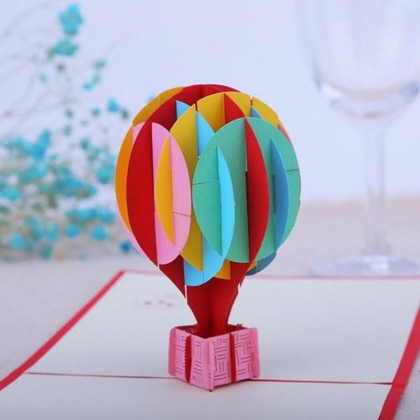 10 Pcs 3d Criativo Cartões Do Convite Da Festa De Casamento Balão
