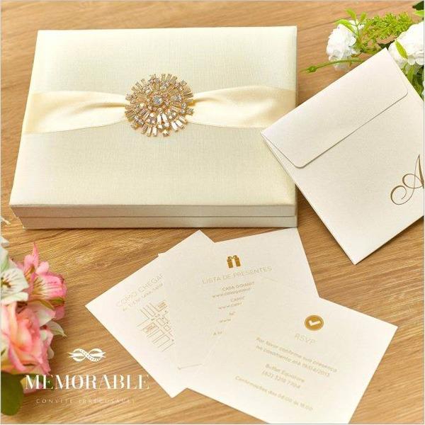 Caixas Para Seus Convites De Casamento