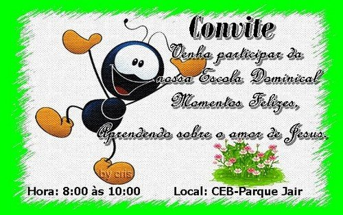 Convites EvangÉlicos    Avaré