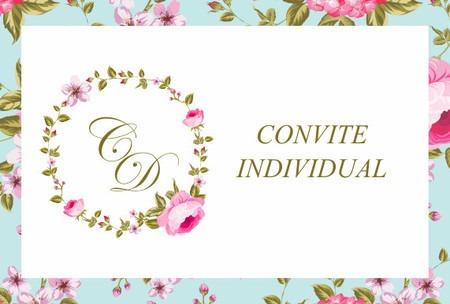 Convite Individual Personalizado