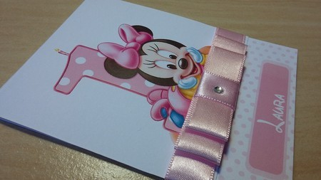 Convite Minnie Baby