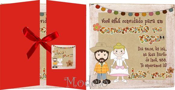 Convite Casamento Na Roça
