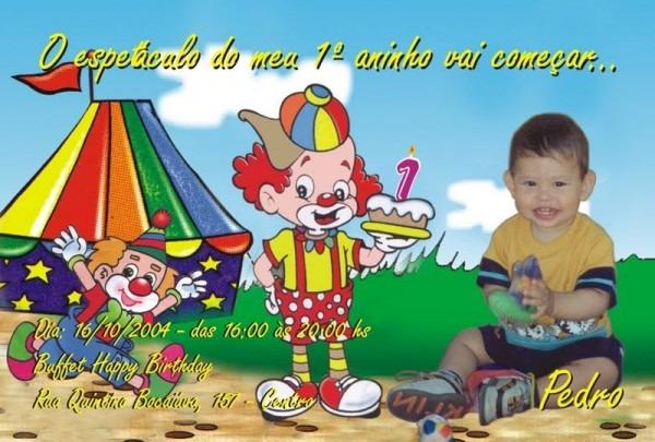 50 Convites Aniversário Infantil Personalizado Frete Grátis