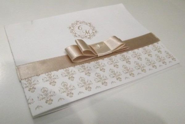 Convites Vergê A4 (casamento, Aniversários, Batizado E Etc) 1