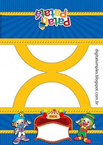 Kit De Personalizados Gratuito Para Aniversário Tema Patati Patatá