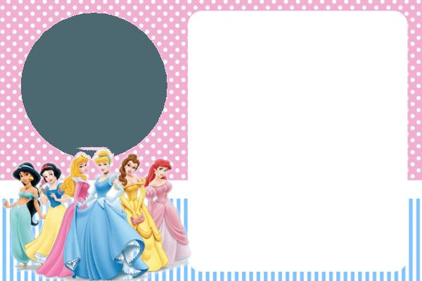 Montando Minha Festa  Kit Para Imprimir Grátis Princesas Disney