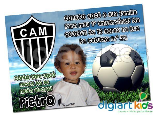 Convite Personalizado Atlético Mineiro