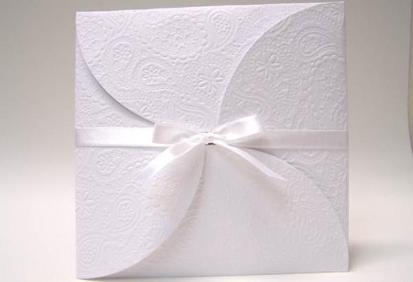 Papel Texturizado Convite Casamento