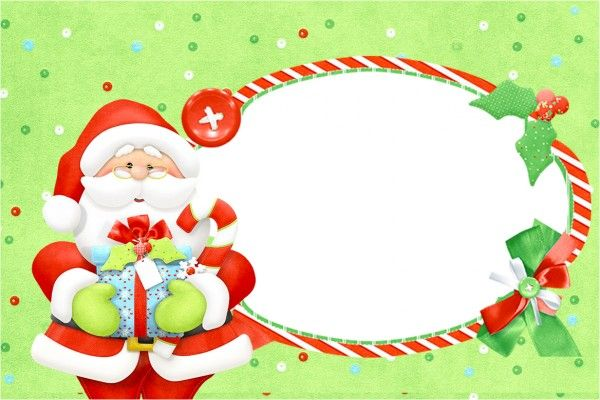 Convite,moldura E Cartão Natal