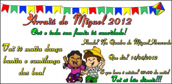 Escola De Brasileira Realizará Festa Junina