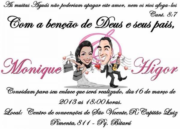 Convites De Casamento Evangélico Para Imprimir