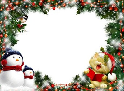 Molduras De Ano Novo, Reveillon, Natal, Festas Natalinas