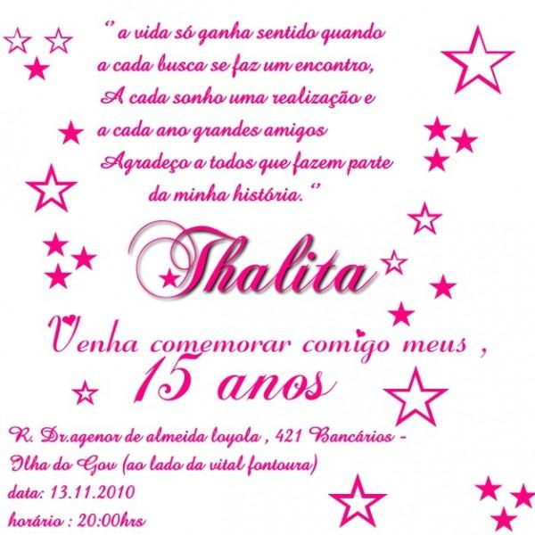Convites Ilha    Convite 15 Anos