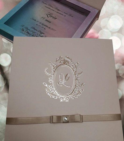 Convite Caixa Alice – Setegra Convites