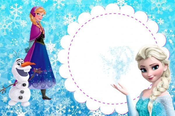 Ideia & Festa  Convite Frozen (para Imprimir)