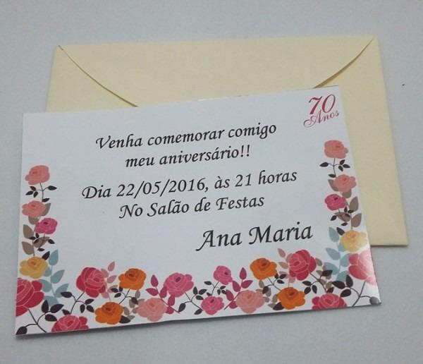 Convite Aniversário No Elo7