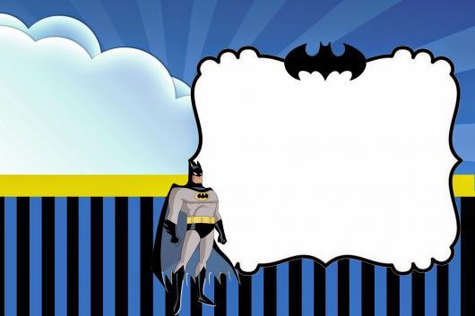 Convite Batman – 40 Ideias E Inspirações Adoráveis Para Sua Festa!