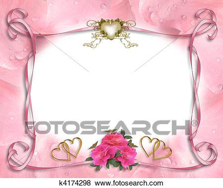 Convite Casamento, Borda, Cor