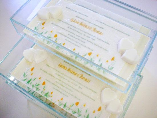 Convites De Casamento Comestíveis Saem Da Formalidade