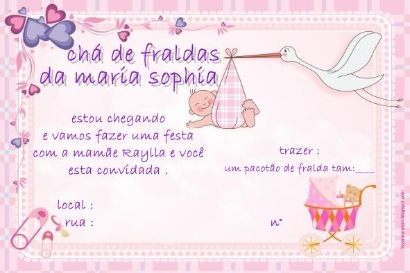 Maria Sophia  Preparativos Pra O Chá De Fraldas !