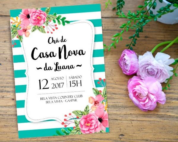 Convite Chá De Casa Nova No Elo7
