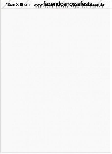 Convite Com Envelope Fundo Natal Verde E Branco