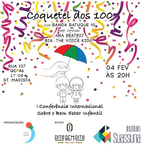 Coquetel Dos 100 – Lançamento Cisbei – Patricia Finotti