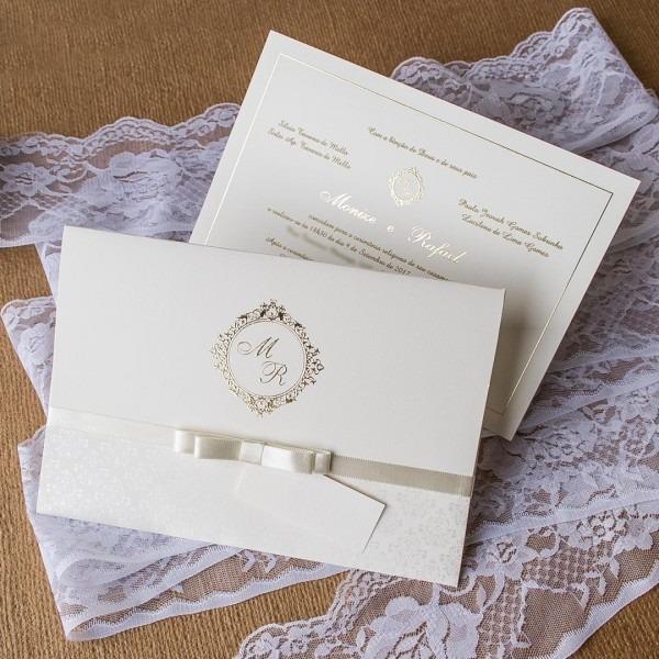 Convites De Casamento Tradicionais E Clássicos