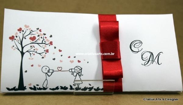 Convite De Casamento Modelo Ilha Koh Yao ( Telefone Sem Fio)