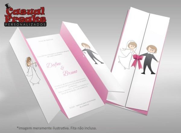 Convite De Casamento Moderno 06