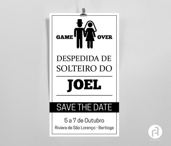 Convite Despedida De Solteiro No Elo7