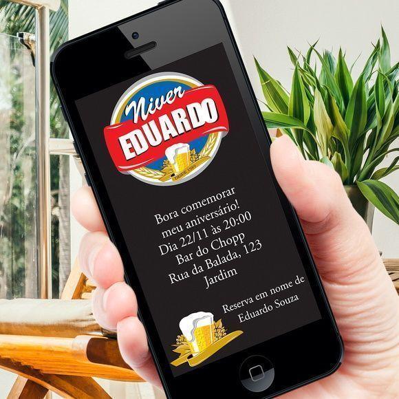 Convite Digital Cerveja