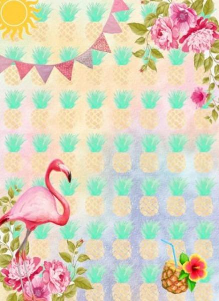 Convite Flamingo – 60 Modelos Tropicais Super Lindos E Modernos!