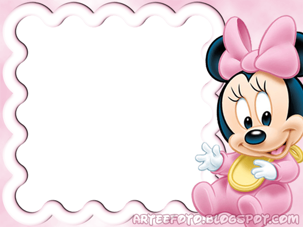 Convite Minnie Baby Png » Png Image