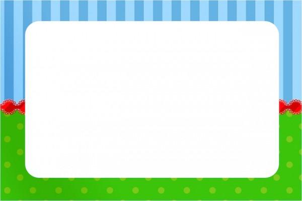 Fundo Azul E Verde
