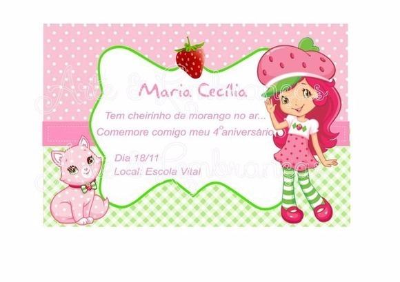 Convite Virtual Moranguinho