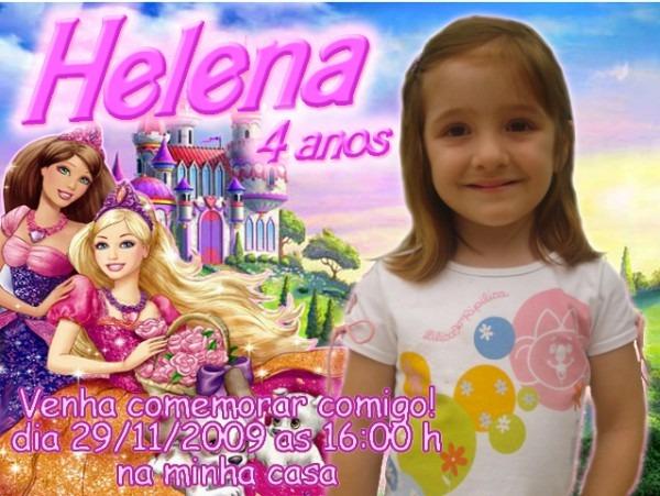 Eliane DecoraÇÃo Com BalÕes E Convites  Convite Aniversário Infantil
