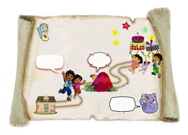 Arte Em Familia  Festa Aniversário Tema Dora Aventureira