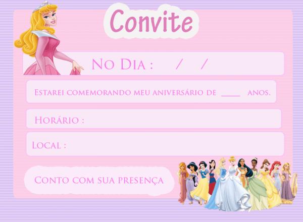 Destino Fantasia  Festa Das Princesas Da Disney