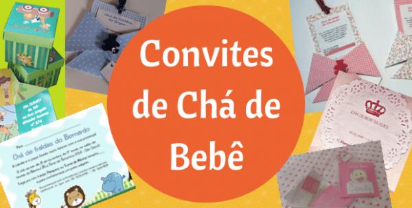 Convites De Chá De Bebê Fraldas