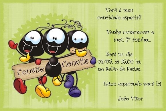 Convites De Aniversário (5)