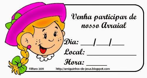 Convites De Festa Junina