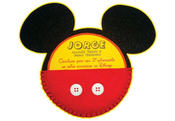 25 Convites Do Mickey Mouse (lindos, Para Você Se Inspirar E Fazer